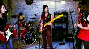 "Young Girls Channel Joan Jett And The Runaways In This Fantastic Cover Of ""Cherry Bomb""!"