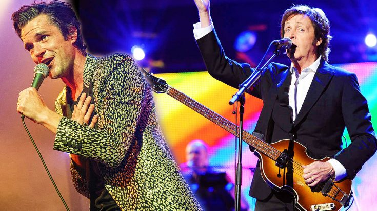 """Paul McCartney Surprises New Year's Concert—Joins The Killers For Incredible Duet Of """"Helter Skelter""""! 