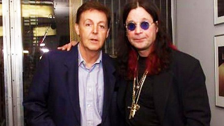 Ozzy Osbourne Meets Paul McCartney For The First Time— They Immediately Become Best Friends! | Society Of Rock Videos