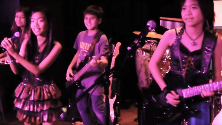 "Young Rock Band Hits The Stage For Phenomenal ""Sweet Child O' Mine"" Cover—Crowd Is Amazed! 