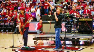 "6th Graders Shred Unbelievable Cover Of AC/DC's ""T.N.T."" During Halftime Of College Basketball Game!"