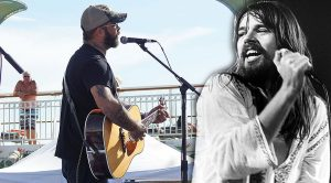 Aaron Lewis Delivers Arguably The Most Powerful Cover Of Bob Seger's 'Turn The Page' Live In 2013