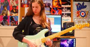 "15-Year-Old Girl Channels Texas Blues Magic For Killer Cover Of Stevie Ray Vaughan's ""Pride And Joy"""