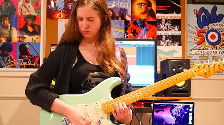 "15-Year-Old Girl Channels Texas Blues Magic For Killer Cover Of Stevie Ray Vaughan's ""Pride And Joy"" 