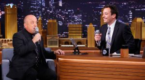 Billy Joel & Jimmy Fallon Pair Up For Awesome Cover Of The Doo-Wop Hit 'The Lion Sleeps Tonight'!