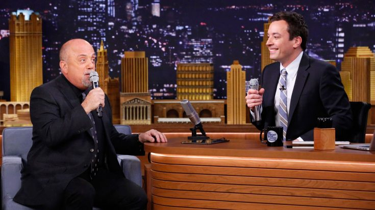 Billy Joel & Jimmy Fallon Team Up For Awesome On-The-Spot Duet Of This Doo-Wop Classic! | Society Of Rock Videos