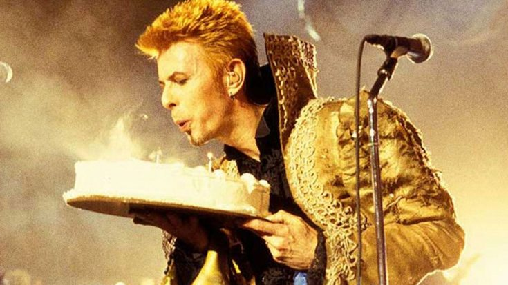 20 Years Ago: David Bowie Turns 50, And Throws A Birthday Bash That'll Turn You Green With Envy | Society Of Rock Videos