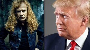 It Turns Out That Dave Mustaine Has Quite A Surprising Opinion About Mr. Trump…