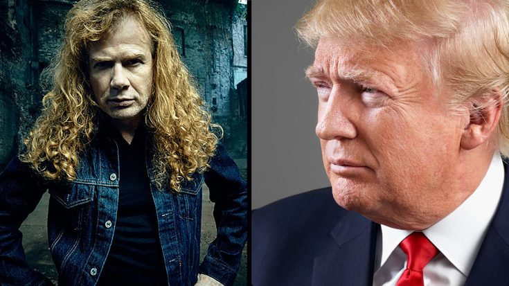 It Turns Out That Dave Mustaine Has Quite A Surprising Opinion About Mr. Trump… | Society Of Rock Videos