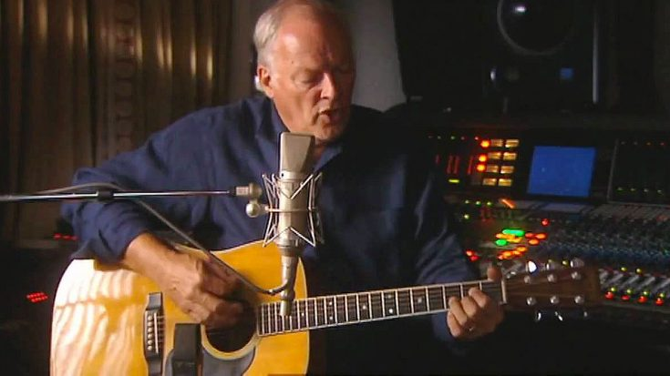 Birthday Boy David Gilmour Shows Young Rockers How It's Really Done With Acoustic 'Breathe' | Society Of Rock Videos