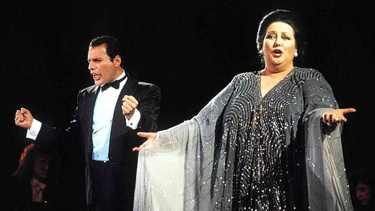 Remember When Freddie Mercury Teamed With This Opera Singer For A