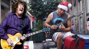 Teenage Street Performer Channels Gary Moore With Crazy-Good Cover Of 'Still Got The Blues'!