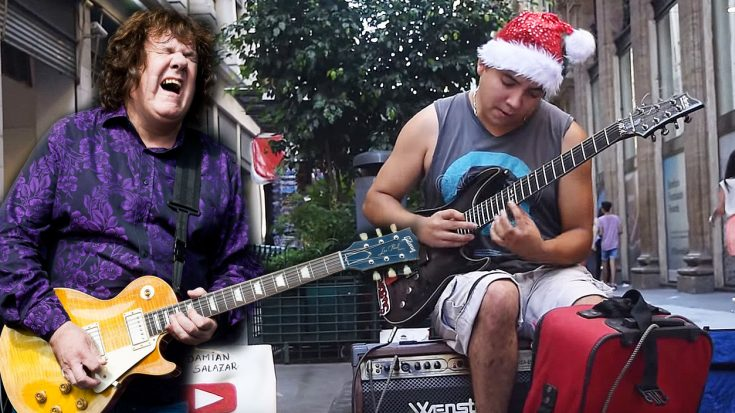 Teenage Street Performer Channels Gary Moore With Crazy-Good Cover Of 'Still Got The Blues'! | Society Of Rock Videos