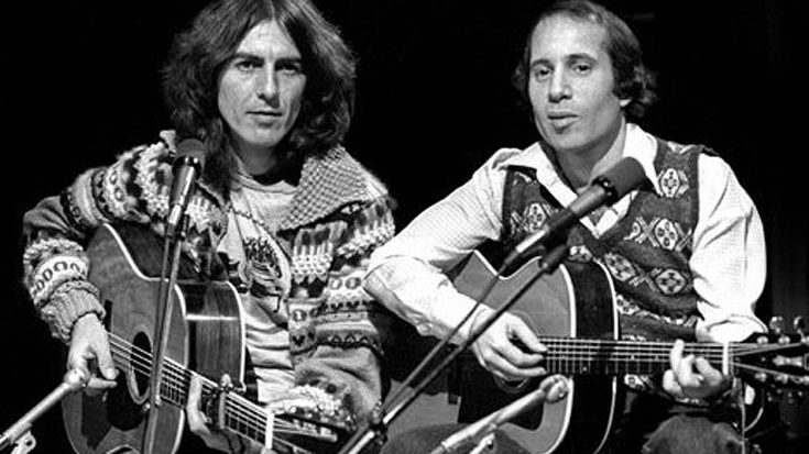 Caught On Tape: George Harrison And Paul Simon Jam An Everly Bros. Classic Ahead Of 'SNL' Performance | Society Of Rock Videos