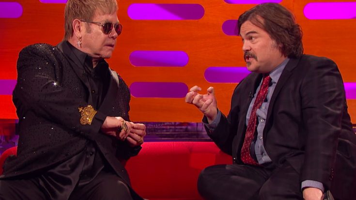 Jack Black Asks Elton John To Identify His Own Song – The Catch? He Can Only Use This Hilarious Hint | Society Of Rock Videos