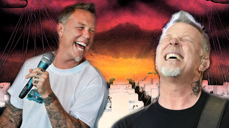 Someone Edited James Hetfield's Laughs Together In Place Of 'Master Of Puppets' And It's Hilarious! | Society Of Rock Videos