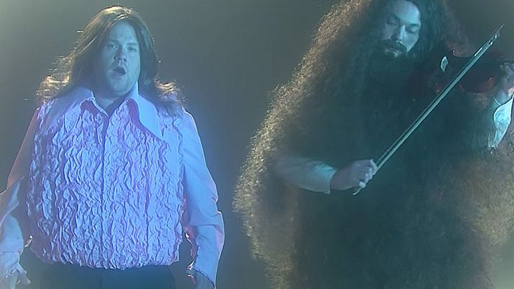 "James Corden Joins 'Big Bang Theory' Star Jim Parsons For Epic Remake Of Kansas' ""Dust In The Wind"" 