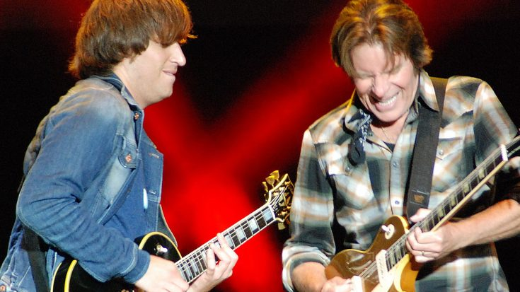 John Fogerty's Son Absolutely Tears It Up Onstage With Dear Old Dad – A New Legend In The Making? | Society Of Rock Videos