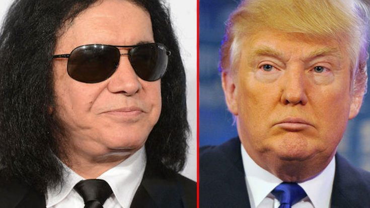 Gene Simmons Sets The Record Straight Once And For All, Reveals Why Kiss Won't Play Trump's Inauguration | Society Of Rock Videos
