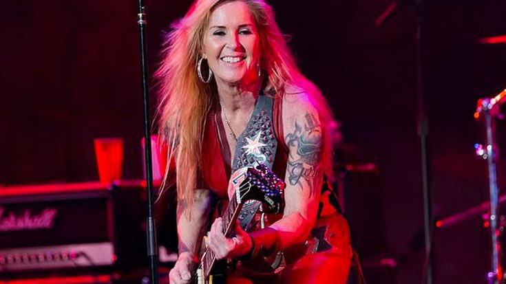 "Lita Ford Teams Up With Led Zeppelin Cover Band For Restless Cover Of ""The Lemon Song"""
