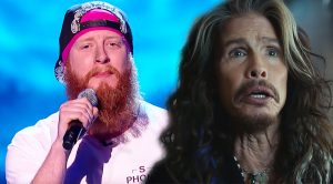 Man Takes Centerstage Singing Aerosmith And These Judges ALL Have To Turn And See!