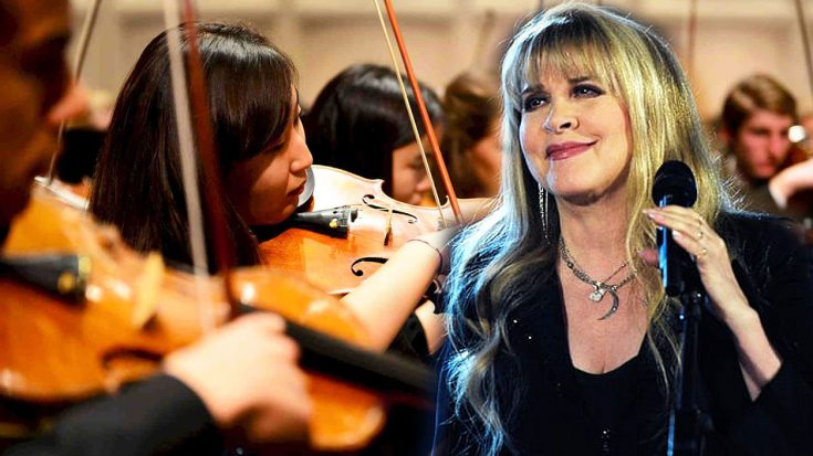 What Happens When Stevie Nicks Sings 'Landslide' With A Small Orchestra? The Result Is Breathtaking… | Society Of Rock Videos