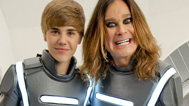 Flashback: Ozzy Osbourne Goes Toe To Toe With J.Biebs In Futuristic Super Bowl Commercial | Society Of Rock Videos
