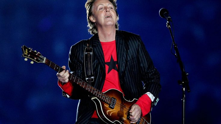 Flashback To When Paul McCartney Took His Rightful Place At The Super Bowl Halftime Show | Society Of Rock Videos