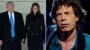 "President Trump Trolls Rolling Stones, Takes Stage At Inauguration Concert To ""Heart Of Stone"""