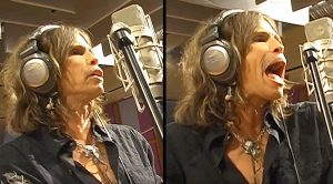 Steven Tyler Belts It Out Like Nobody's Business In Rare Piece Of Studio Footage!