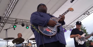 """Christone """"Kingfish"""" Ingram Wows With """"The Thrill Is Gone"""" At The 2016 Winthrop Rhythm & Blues Festival"""