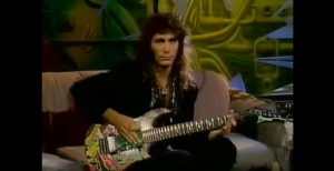 "A Look Back At Steve Vai's Guesting On The ""Headbangers Ball"" In 1990"