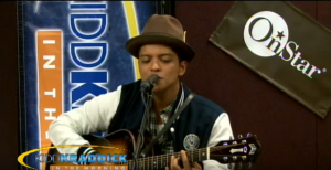 "Bruno Mars Sings ""Smells Like Teen Spirit/Billie Jean"" Mashup And Wins Us Over"