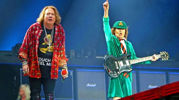 Guns N' Roses Surprise Sydney Crowd And Invite Angus Young On Stage For Epic, Unforgettable Duet! | Society Of Rock Videos