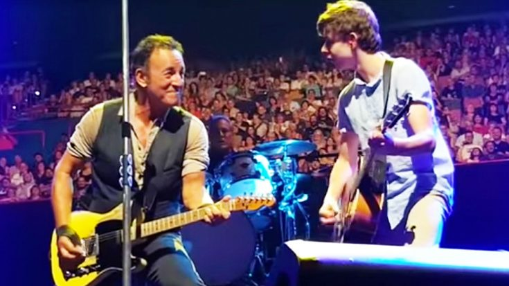 10-Year Old Steals Show At Bruce Springsteen's Concert After He Joins 'The Boss' On Stage!