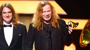 Dave Mustaine Responds To GRAMMYs For Metallica Mistake, And Doesn't Hold Back!