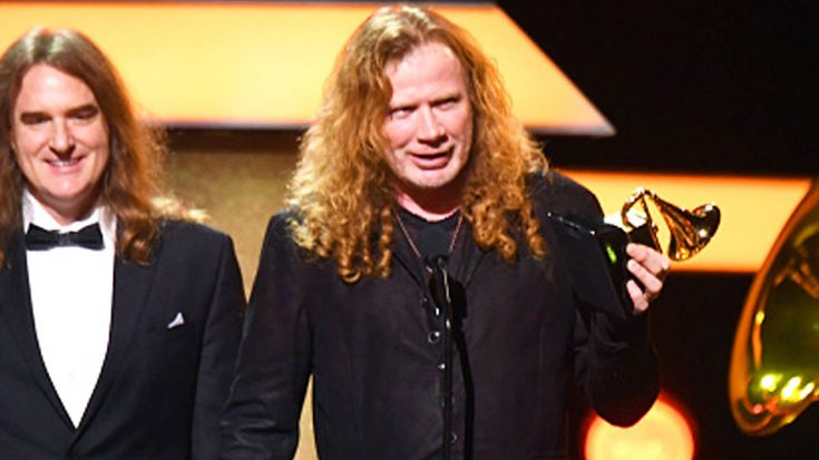 Dave Mustaine Responds To GRAMMYs For Metallica Mistake, And Doesn't Hold Back! | Society Of Rock Videos