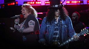 """Hello, Cleveland!"": Check Out Guns N' Roses' Hilarious 'This Is Spinal Tap' Moment"