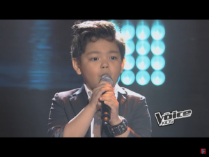 This incredible 8-year old will give Steve Perry a run for his money