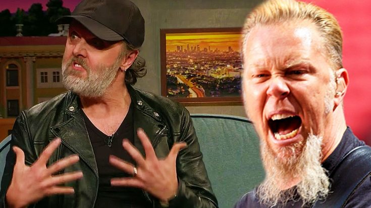 Lars Ulrich Reveals Exactly How James Hetfield Acted After GRAMMYs Gaffe, And It Wasn't Pretty! | Society Of Rock Videos