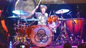 13-Year Old Joins Led Zeppelin Cover Band On Stage—Steals Show With Ridiculous Drumming Skills!