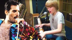 10-Year Old Logan Showcases Remarkable Talent On His Incredible Cover of 'Somebody To Love'