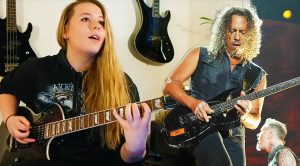 """Norwegian Girl Shows Off Unbelievable Skill On Guitar With This Amazing """"Master of Puppets"""" Cover!"""