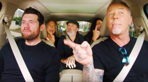 "Metallica Will Be Featured On Upcoming ""Carpool Karaoke"" TV Series—Check Out A Sneak Peek!"