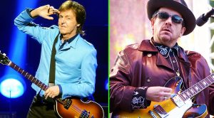 Paul McCartney And Elvis Costello Unleash Folk Groove In Brand New, Exclusive Demo: 'My Brave Face'