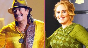 Santana Praises Adele, And Reveals Why He Thinks She Won The GRAMMYs Album Of The Year!