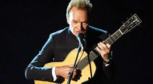 "Watch Sting's Touching, Delicate Performance Of His Oscar-Nominated Song ""The Empty Chair"""