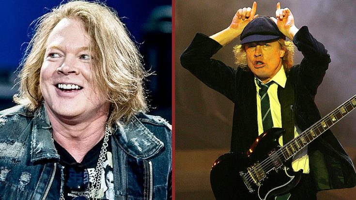 News: Axl Rose Rumored To Be Vocalist On The Next AC/DC Album | Society Of Rock Videos