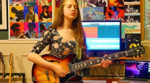 """15-Year-Old Girl Channels That Old Blues Rock Magic For Epic Cover Of """"Black Magic Woman"""""""