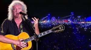 Brian May Leads 80,000+ People In Epic Sing-Along Of 'Love Of My Life' With A Special Surprise At The End!